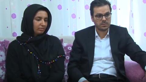 Kurdish journalist says goodbye to father killed in YPG/PKK terror attack