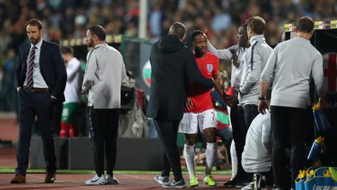 Four detained in Bulgaria over racist chants at England game