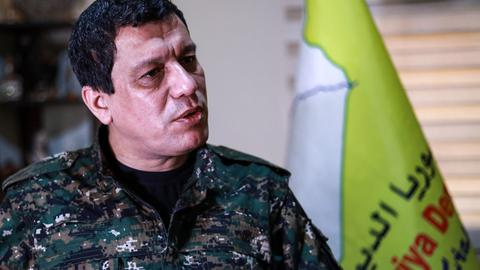Who is Mazloum Kobani and why does he have Trump's confidence?