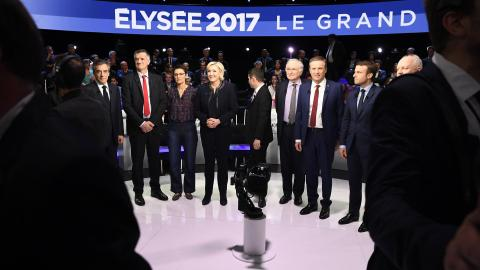 Who are the candidates in France's presidential election?