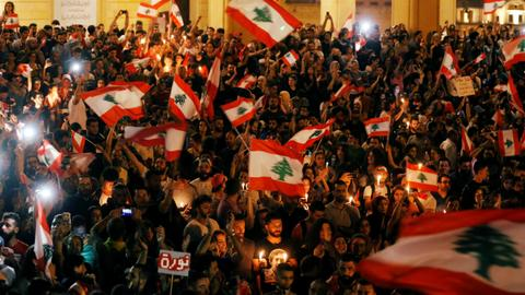 Lebanon's Christian party pulls out of embattled government