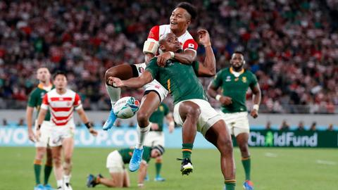 South African power end Japan's dream run