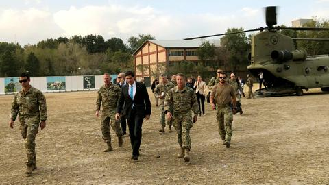 US Defense Secretary Esper arrives in Kabul on unannounced visit