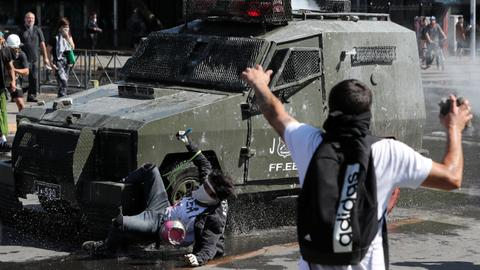 Chile extends state of emergency as unrest death toll hits seven