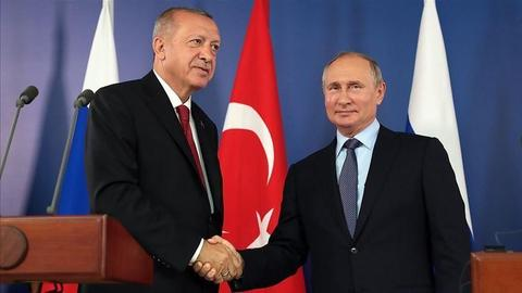Turkish, Russian presidents to discuss Syria in Moscow meeting