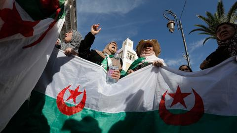 Two days before election, Algeria jails two ex-prime ministers