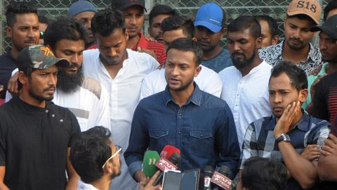 Bangladesh cricketers go on strike, tour of India in jeopardy