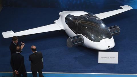 Air taxi start-up Lilium expands production