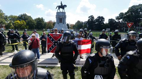 Activists still fight to take down Confederate monuments across US