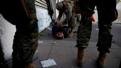 Chile military to investigate allegations of rights violations in riots