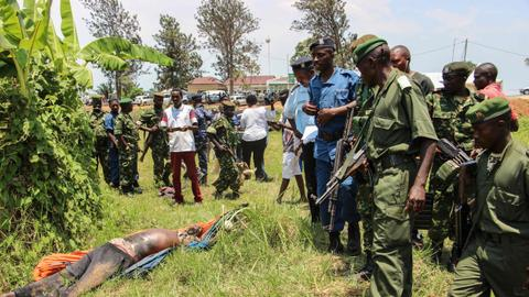 Several dead as security forces, militants clash in Burundi