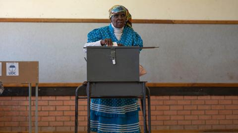 Botswana votes in first real challenge to governing BDP party