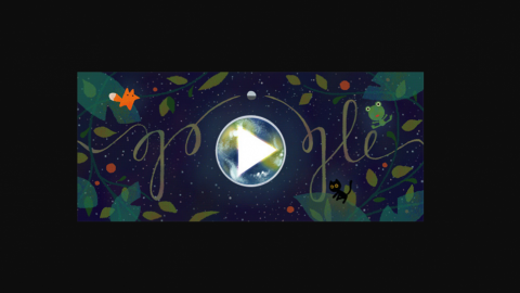 Earth Day celebrated with special Google doodle