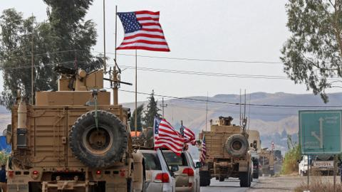 US troop withdrawal from Syria strains Washington-Baghdad ties
