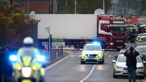 Thirty-nine dead in truck were Chinese – British media