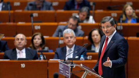 Turkish PM says EU human rights accords will form new constitution