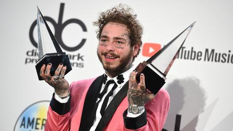 Post Malone tops AMA nominations, Swift could break MJ's record