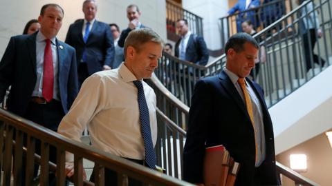 Trump's Republican allies push ahead with anti-impeachment drive