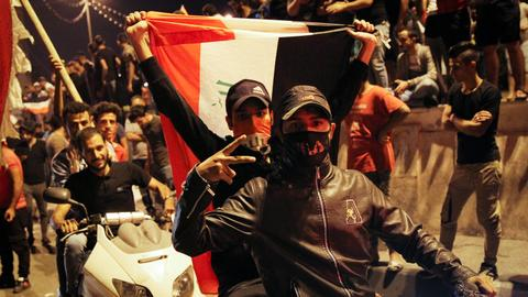 Anti-government protests resume in Iraq after bloodshed