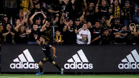 Vela double sends LA Galaxy crashing out of MLS playoffs