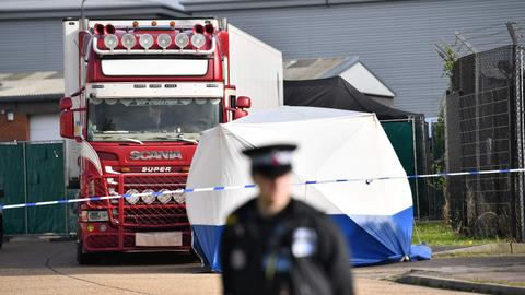 Chinese paper says Britain must accept responsibility for truck deaths