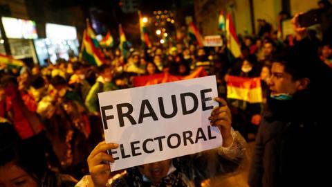 Bolivia court declares Morales winner in disputed vote