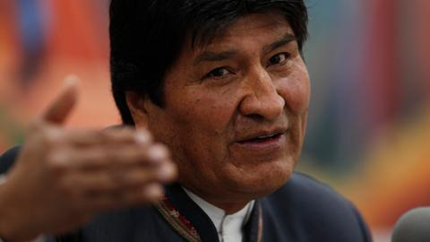 Evo Morales says he'd welcome election audit in Bolivia
