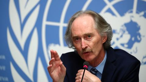 UN envoy to meet Turkish, Russian, Iranian foreign ministers