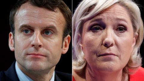 Global leaders throw their support behind Macron