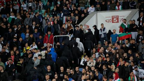 UEFA closes Bulgaria stadium for fan racism at England game