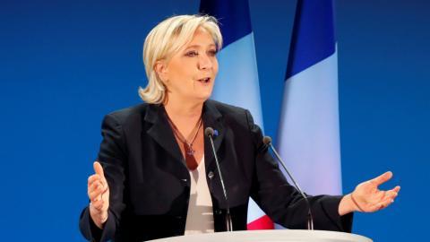 Le Pen eyes French presidency