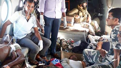 Maoist rebels kill 24 paramilitary soldiers in central India