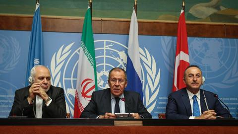 Turkey, Russia and Iran issue joint statement on Syria