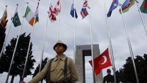 Turkey marks 102 years since the battle of Gallipoli