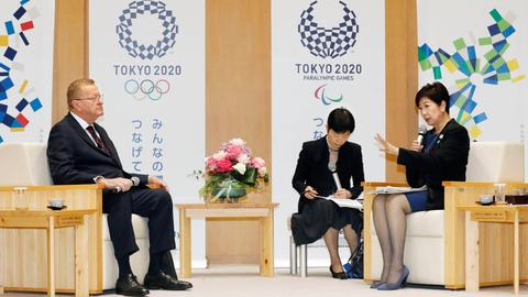 Tokyo governor confronts IOC over moving Olympic marathon