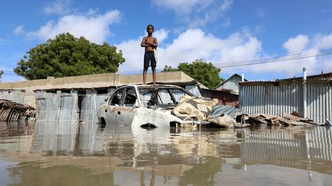 Flooding in East Africa affects over one million people