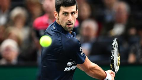 Djokovic crushes Tsitsipas to set up Dimitrov semi-final in Paris