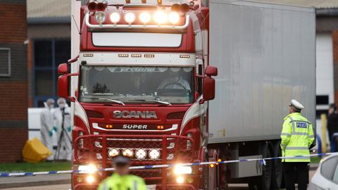 Migrants found dead in a lorry were Vietnamese – UK police
