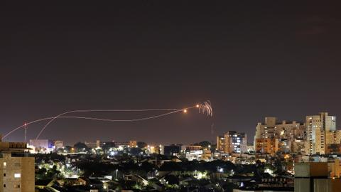 Israel strikes Gaza after rockets fired at south Israel