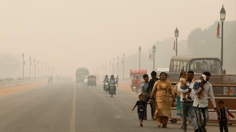 New Delhi declares public emergency as pollution at year's worst