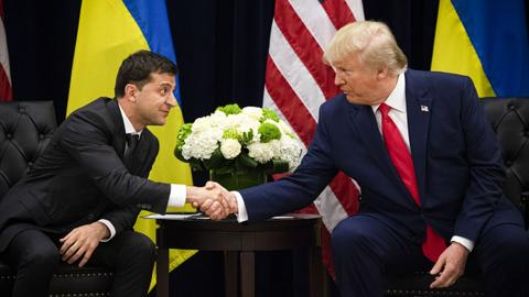 US president invites Ukrainian president to the White House