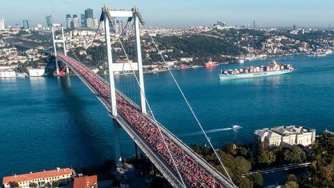 Kenyan, Ethiopian athletes win 41st Istanbul Marathon