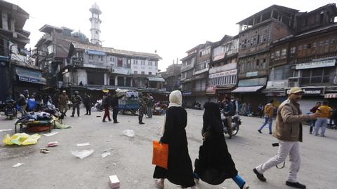 Grenade blast in India-administered Kashmir kills one, inures 25