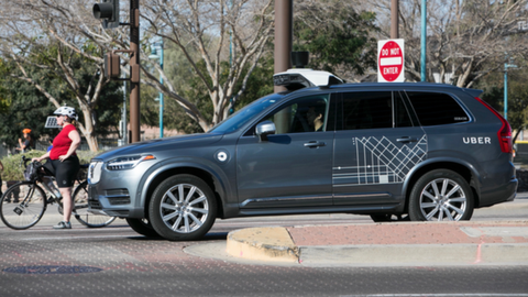 Uber self-driving vehicles involved in 37 crashes before fatal incident