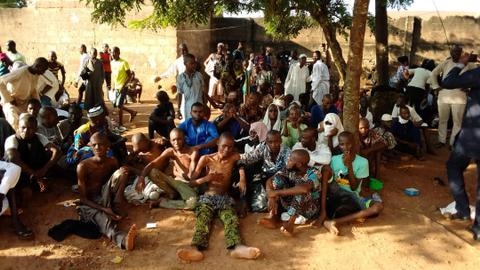 Nigerian police free 259 pupils from another illegal school