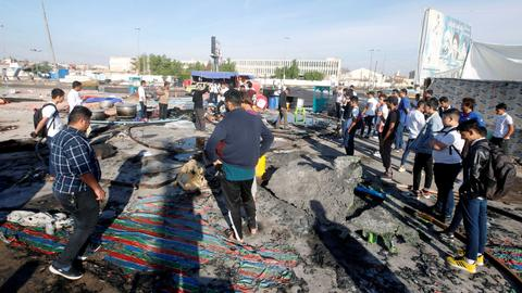 Two protesters killed in overnight clashes in Iraqi city of Karbala