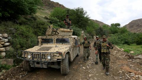 Afghanistan arrests 35 soldiers after deadly Taliban raid