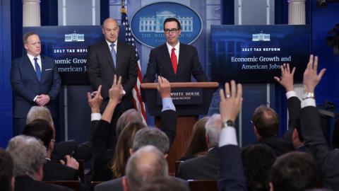 Trump administration unveils ambitious tax cut plan