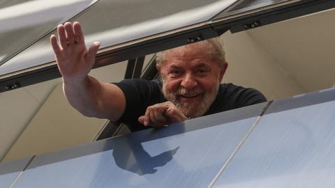 Brazil top court's ruling could free ex-President Da Silva