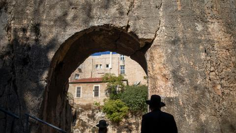 France reopens contested Jewish tomb in east Jerusalem
